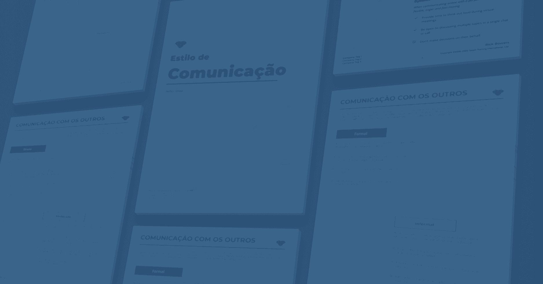 Banner Estilo de Comunicação